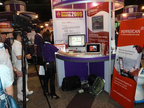 TICTA 2009 - TV Interviewing Peppercan